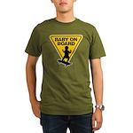 Baby On Board (Skateboard) Organic Men's T-Shirt (