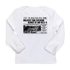 Boston Molasses Disaster Long Sleeve Infant T-Shir