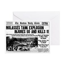 Boston Molasses Disaster Greeting Cards (Pk of 20)