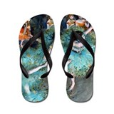 Degas - Green Dancer Flip Flops