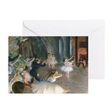 Degas - Rehearsal Onstage Greeting Cards (Pk of 10