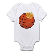 Basketball Butterfly Gift Infant Bodysuit