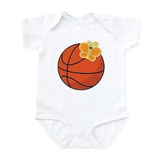 Basketball Butterfly Gift Onesie