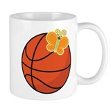Basketball Butterfly Gift Small Mug