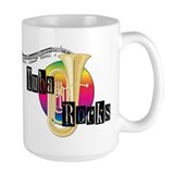 Tuba Rocks Coffee Mug
