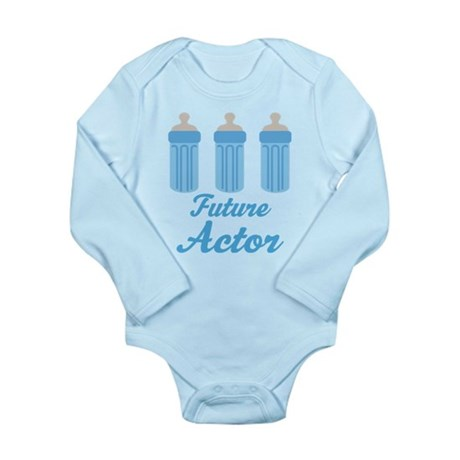 Future Actor Gift Long Sleeve Infant Bodysuit