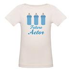 Future Actor Gift Organic Baby T-Shirt