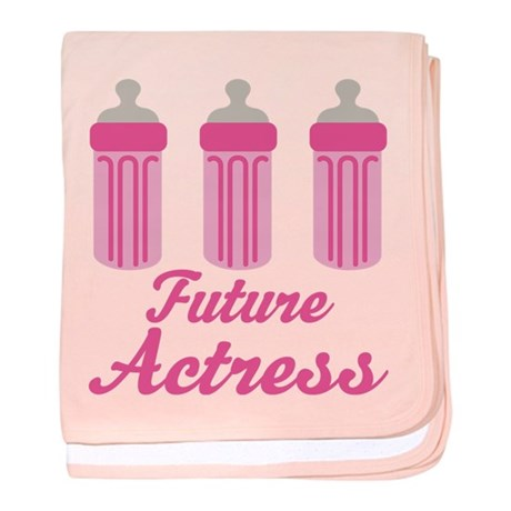Future Actress Gift baby blanket