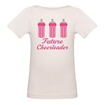 Future Cheerleader Gift Organic Baby T-Shirt