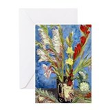Van Gogh - Gladioli Greeting Card