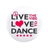 "Live Love Dance 3.5"" Button (100 pack)"