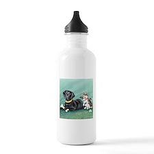 Black Lab - Cat Tails Water Bottle