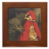 Smith's Red Riding Hood Framed Tile