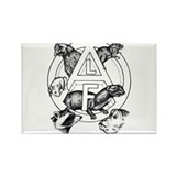 Cute Animal liberation Rectangle Magnet