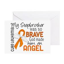 Angel 2 Leukemia Greeting Card