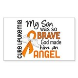 Angel 2 Leukemia Decal