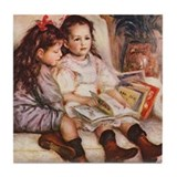 Storytime, Renoir Tile Coaster