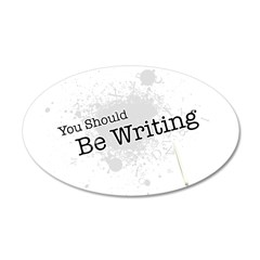 You should be writing 38.5 x 24.5 Oval Wall Peel
