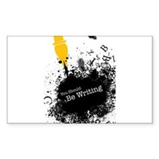 You should be writing (pen) Sticker (Rectangle 10