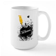 You should be writing (pen) Large Mug