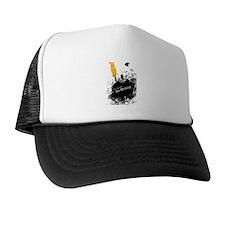 You should be writing (pen) Trucker Hat