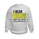 I Wear Yellow 10 Endometriosis Sweatshirt