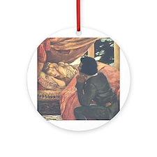 Smith's Sleeping Beauty Ornament (Round)