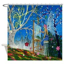 Fairy Artist Shower Curtain