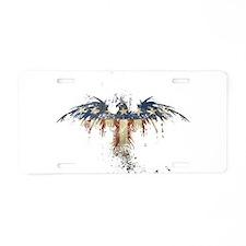 Americana Eagle Aluminum License Plate
