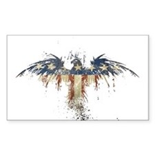 Americana Eagle Decal