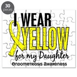 I Wear Yellow 10 Endometriosis Puzzle