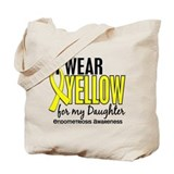 I Wear Yellow 10 Endometriosis Tote Bag