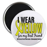 I Wear Yellow 10 Endometriosis Magnet