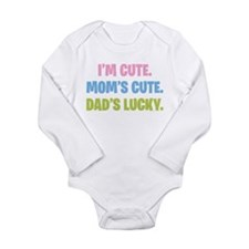 Dad's Lucky Baby Suit