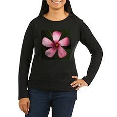 Wood Sorrel Women's Long Sleeve Dark T-Shirt
