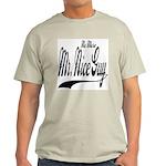 No More Nice Guy Ash Grey T-Shirt