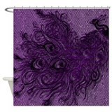 Peacock (various Designs) Shower Curtain