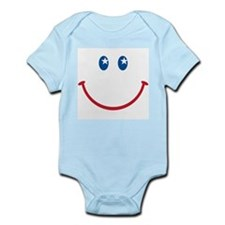 Smiley Face USA: Infant Creeper