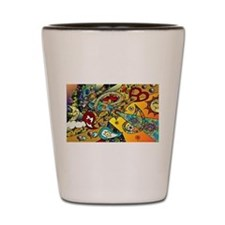 Psychedelic Cycle Of Life Shot Glass