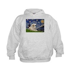 Starry Night Great Pyrenees Hoodie