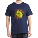 FRACTAL HOLE YELLOW T-Shirt