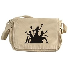 Cute Occupational Messenger Bag