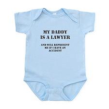 Daddy Is A Lawyer 1 Infant Bodysuit