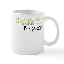 Sorry, I'm Taken Mug