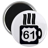 Cute 61 2.25&quot; Magnet (10 pack)