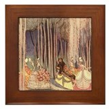 Nielsen's Dancing Princesses Framed Tile
