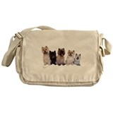 5 Cairn Terrier Friends Messenger Bag