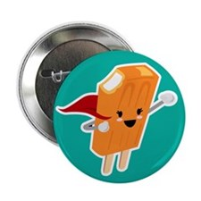 "Super Creamsicle 2.25"" Button"