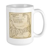 Old Cape Cod Map Ceramic Mugs