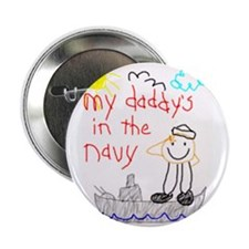 "Navy Dad 2.25"" Button (100 pack)"